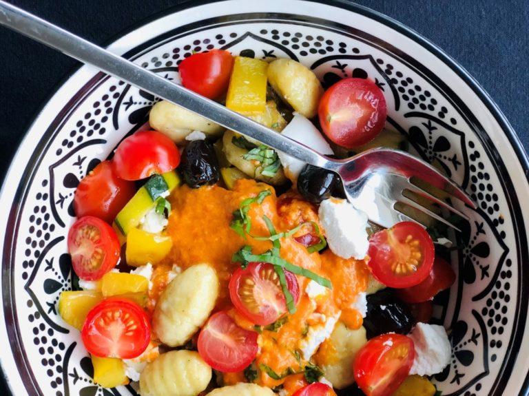Salade gnocchis