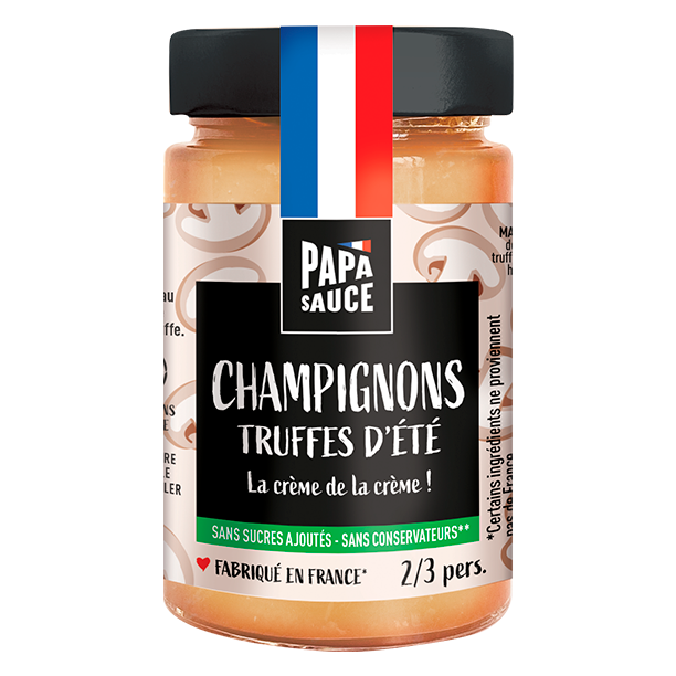 Sauce Papa Sauce Pâtes Champignon Truffe Made in France